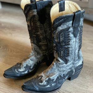 Corral Women's Black Western Cowboy Boots